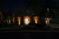 Neighborhood Entry LED Lighting